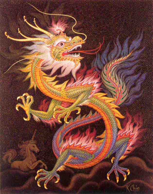 Chinese Dragon Yellow 3 large